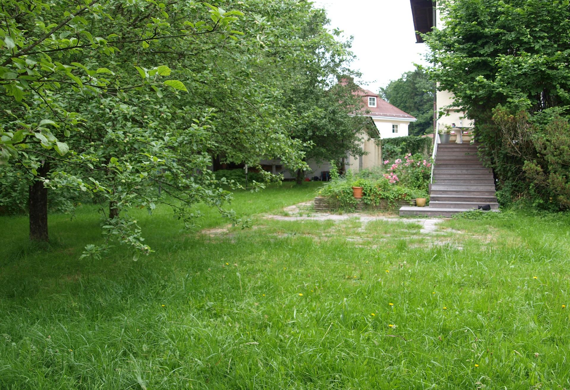 SALZBURG-AIGEN: Außergewöhnliches Baugrundstück mit Bestand in sehr ruhiger Lage